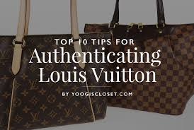 how to authenticate louis vuitton bags and accessories