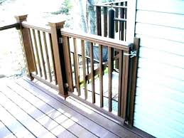 dog gate deck outdoor gates for pets baby pet need a sliding in fence indoor