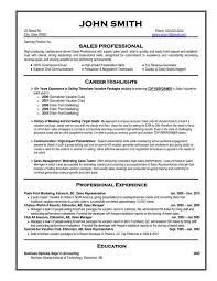 How To Write A Professional Resume Template Best of Sales Resume Samples New Here To Download This Sales Professional