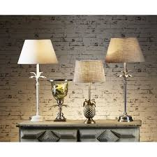 emac lawton st martin pineapple table lamp base in antique brass