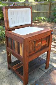 wooden cooler 17 ideas about pallet cooler on diy cooler stock photo details from these