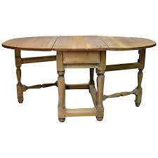 18th century norwegian baroque drop leaf farmhouse table in pine for at 1stdibs