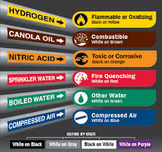 Pipe Color Chart Pipe Label Color Chart Best Picture Of Chart Anyimage Org