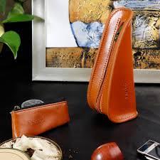 FIREDOG <b>Portable smoke Tobacco</b> Pouch Genuine Leather Single ...