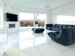 white tile living room white tile living room modern concept floor with open plan tiles for