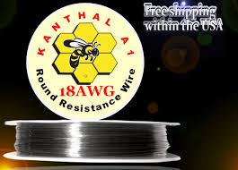 Kanthal A1 Resistance Wire 18 Gauge