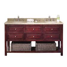60 double sink vanity with granite top. ove decors danny 60-inch double sink bathroom vanity granite top 60 with