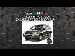 How To Change A 2010 2012 Toyota Rav4 Key Fob Remote Battery Fcc Id Hyq12bdc Key Fob Programming Instructions Car Key Fob Toyota Rav4 Key Fob
