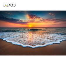 <b>Laeacco</b> Tropical Backdrops <b>Sea</b> Beach Sand Waves Cloudy ...