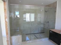 amazing stand up shower glass door brilliant stand up shower glass best way to clean