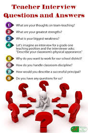 Best 25 Interview Questions For Teachers Ideas On Pinterest
