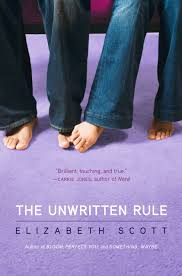 The Unwritten Rule by Elizabeth Scott: Review