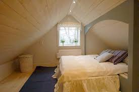 M : Attic Bedrooms With Slanted Walls Computer Desk Modern Black Computer  Desk Wooden Chairs Brown Wood Laminated Ceiling White Painted Ceiling (600  x 400)