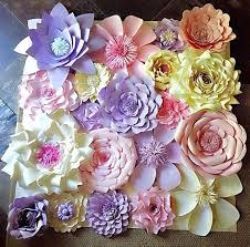Paper Flower Decor Home Decorations Flowers Wedding Home Decorations Awesome Flower