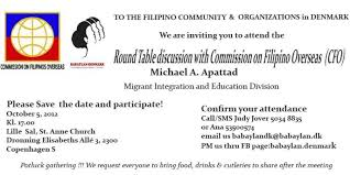 ano ang round table discussion tagalog ideas