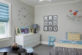View In Gallery Contemporary Kidsu0027 Bedroom Featuring An Oversized Painted Wall  Clock
