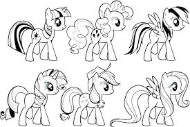 Free Printable My Little Pony Coloring Pages Dariokojadininfo