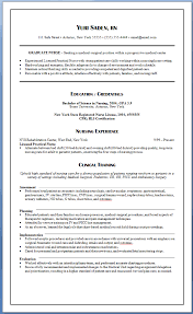 New Grad Nursing Resume Template All Best Cv Resume Ideas