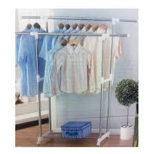 wardrobe racks hanger pole for clothes closet rod home depot double pole clothes interesting