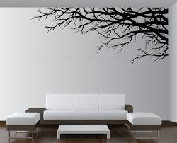 Wall Mural For Living Room Large Vinyl Decor Sticker Wall Mural Art Tree Top Branches Living