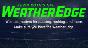 NFL Weather Report - Today