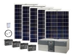 earthtech s ultimate 4800 watt hour solar generator kit with 500 watts of solar power for