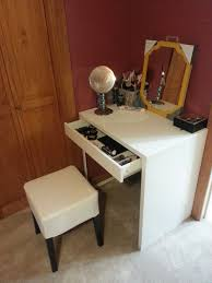 full size of ikea micke desk makeup storageharming also as vanity in white with drawer and