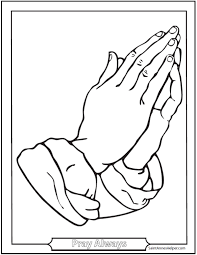 Small Picture Praying Hands Image To Color