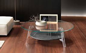 coffee and sides tables coffee table in curved glass