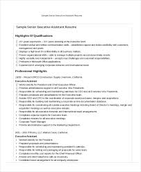Executive Assistant Resume - 7+ Free Word, Pdf Documents Download intended  for Organizational Skills