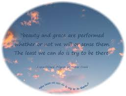 Beauty And Grace Quotes Best Of Beauty And Grace Are Performed Whether Or Not We Will Or Sense Them