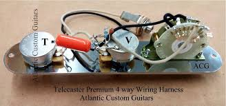 telecaster 4 way wiring harness telecaster image tele 4 way wiring harness cts sprague treble bleed mod on telecaster 4 way wiring harness
