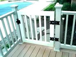 outdoor gate child lock deck baby for super gates porches kits vinyl and porch railing 7