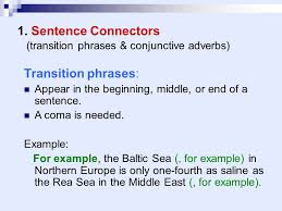 transitioning sentences transitional words and phrases ppt video online download