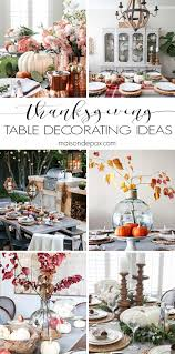 Indoor or outdoor, fancy or casual, traditional or modern, these  Thanksgiving tables will