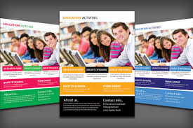 University Brochure Template University Flyer Templates Education Template Creative Market Ianswer 1