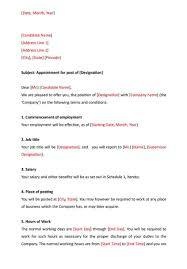 Appointment Letter Format How To Create Download Format