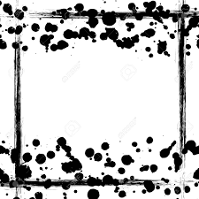 Black And White Vintage Design Vector Background Grunge Drawn Black And White Template With
