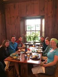 hiker table at bascom lodge mt greylock