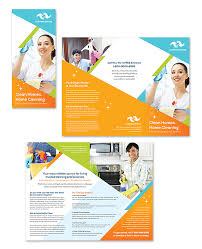 Cleaning Brochure Cleaning Janitorial Services Tri Fold Brochure Template Design