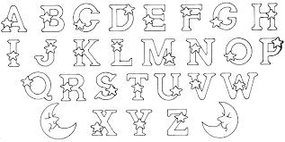 Coloriage Imprimer Alphabet Lettre Ullll