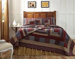 30 best Primitive Quilts images on Pinterest | Bed quilts ... & Turn your sleep space into a comfort and rustic zone with the Finley Quilt  Bedding Collection Adamdwight.com