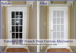 Not A House, But A Home: Tutorial: DIY French Door Curtain Alternative  Create