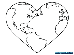 Coloring Page Earth Earth Layers Coloring Pages Earth Day Coloring