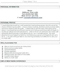 Work Statement Examples Resume Statements Examples Resume Objectives For Customer Service