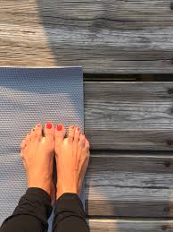 yoga on the dock with sherry sidoti a unique martha s vineyard experience