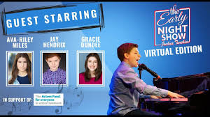 S4 Ep14 Starring Broadway's Ava-Riley Miles, Jay Hendrix, and Gracie Dundee  goes On With The Show. - YouTube