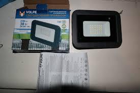 Обзор от покупателя на <b>Прожектор Volpe ULF-Q512 30W/DW</b> ...