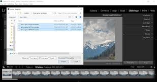 you have successfully imported the time lapse templates in lightroom