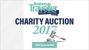 Your Bids Place Your Bids In The Business Traveller Charity Auction Business